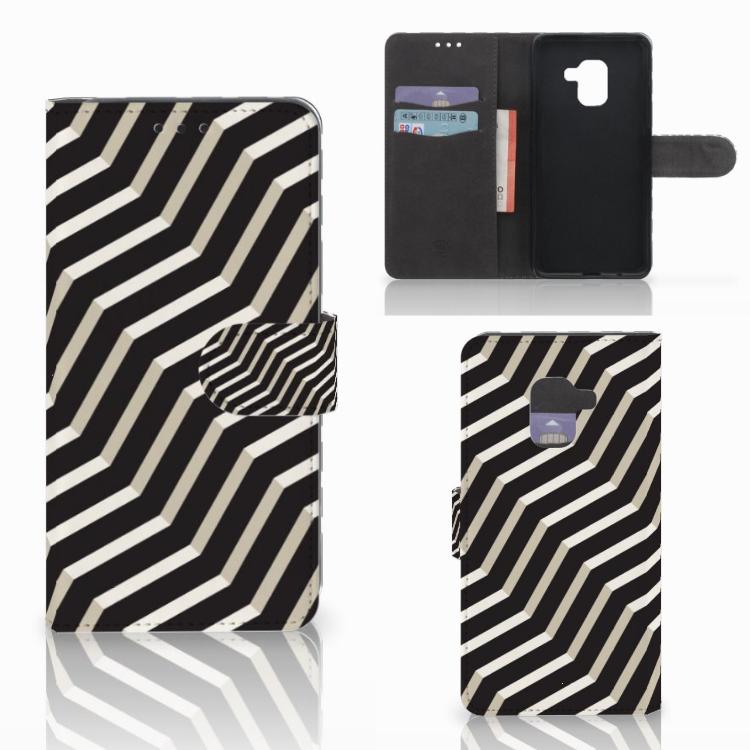 Samsung Galaxy A8 2018 Bookcase Illusion