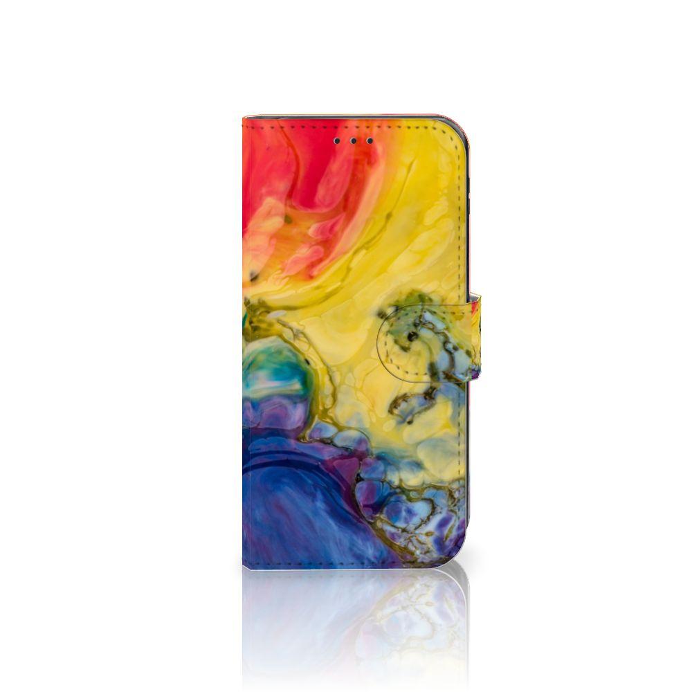 Hoesje Samsung Galaxy J5 2017 Watercolor Dark