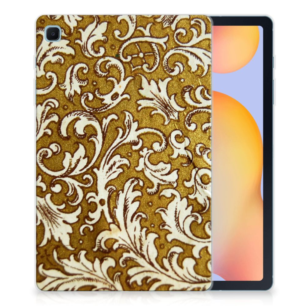 TPU Case Samsung Galaxy Tab S6 Lite Barok Goud