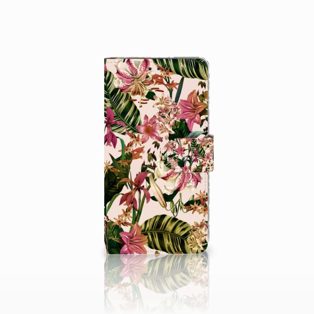 LG G4 Uniek Boekhoesje Flowers