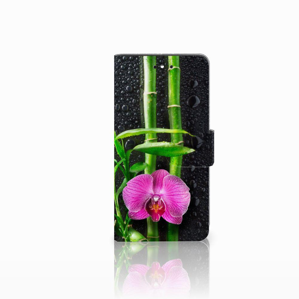Huawei P8 Lite Smart (GR3) Boekhoesje Design Orchidee