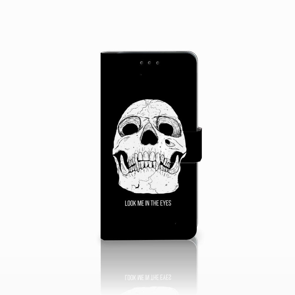 Telefoonhoesje met Naam Samsung Galaxy J6 Plus (2018) Skull Eyes