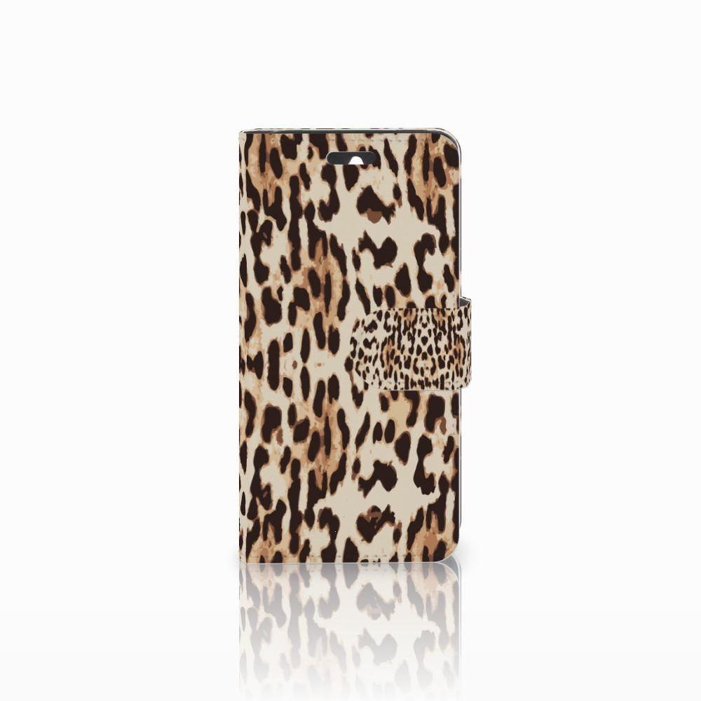 Huawei Ascend Y550 Uniek Boekhoesje Leopard