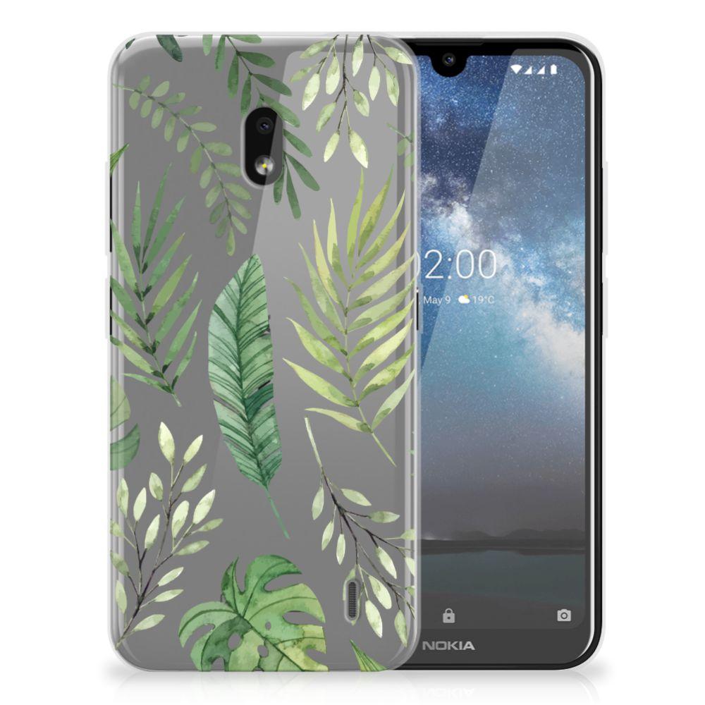 Nokia 2.2 TPU Case Leaves