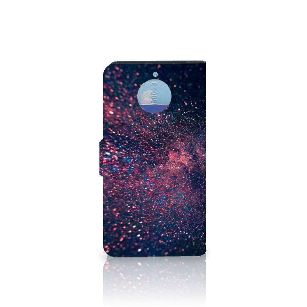 Motorola Moto G5S Plus Bookcase Stars