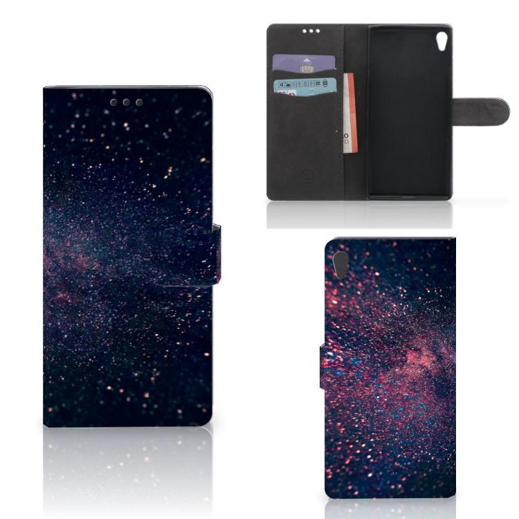 Sony Xperia XA Ultra Bookcase Stars