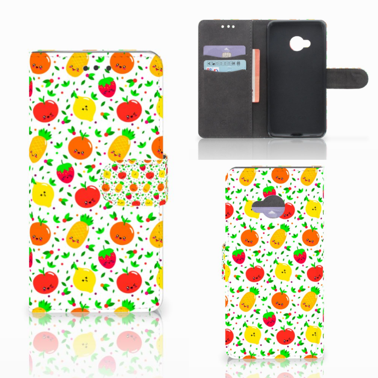 HTC U Play Book Cover Fruits