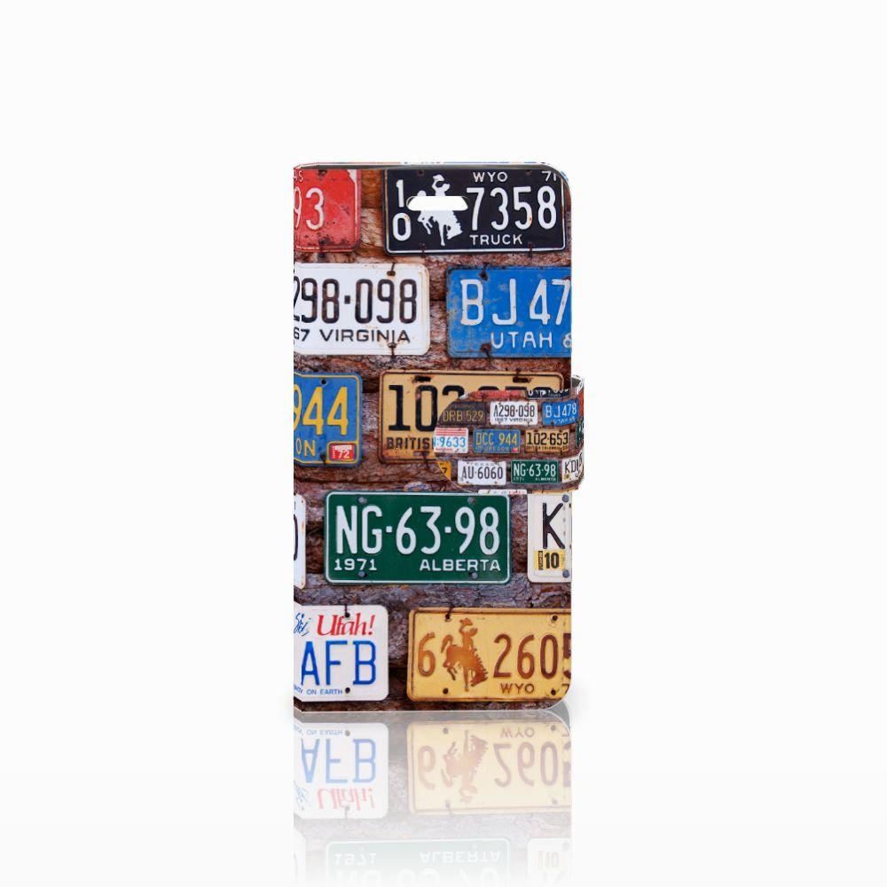 Acer Liquid Z330 Uniek Boekhoesje Kentekenplaten