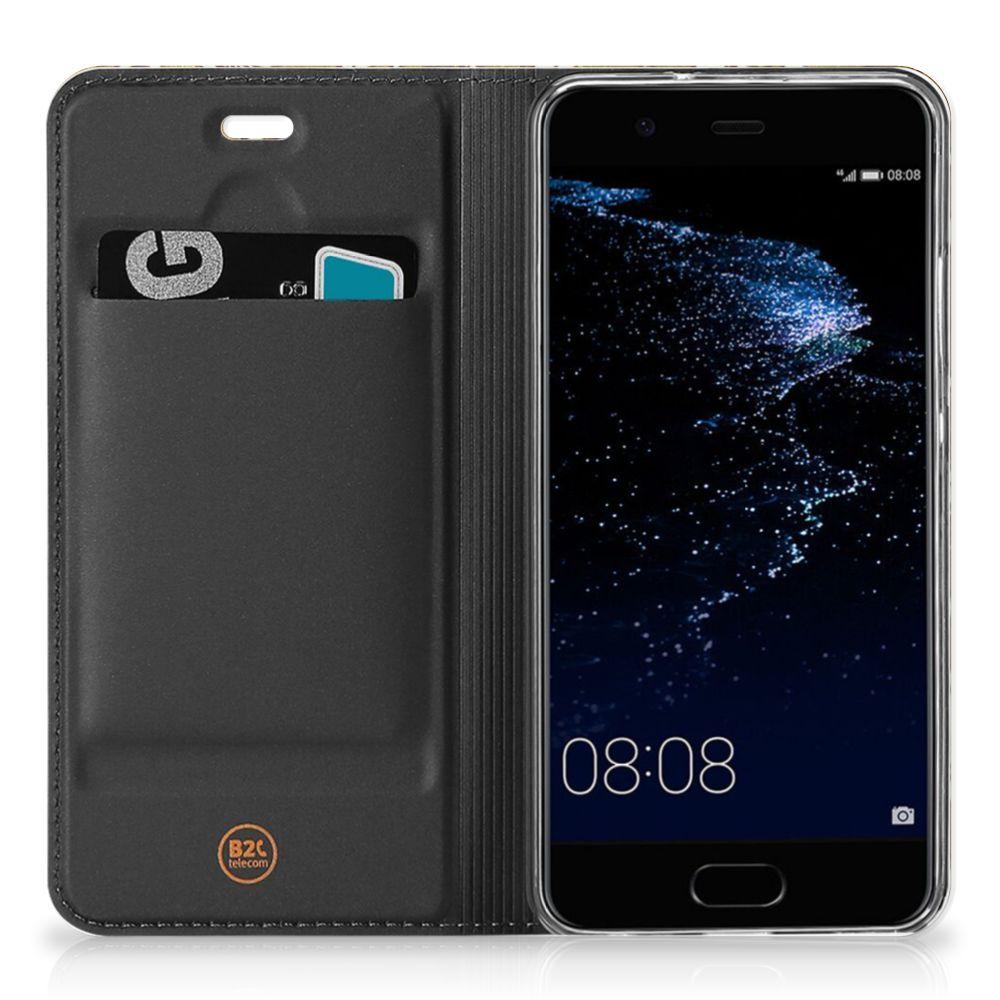 Telefoon Hoesje Huawei P10 Barok Goud