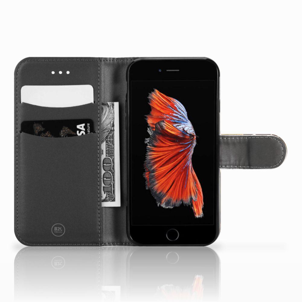 Apple iPhone 6 | 6s Telefoonhoesje met Pasjes Design Cowboy