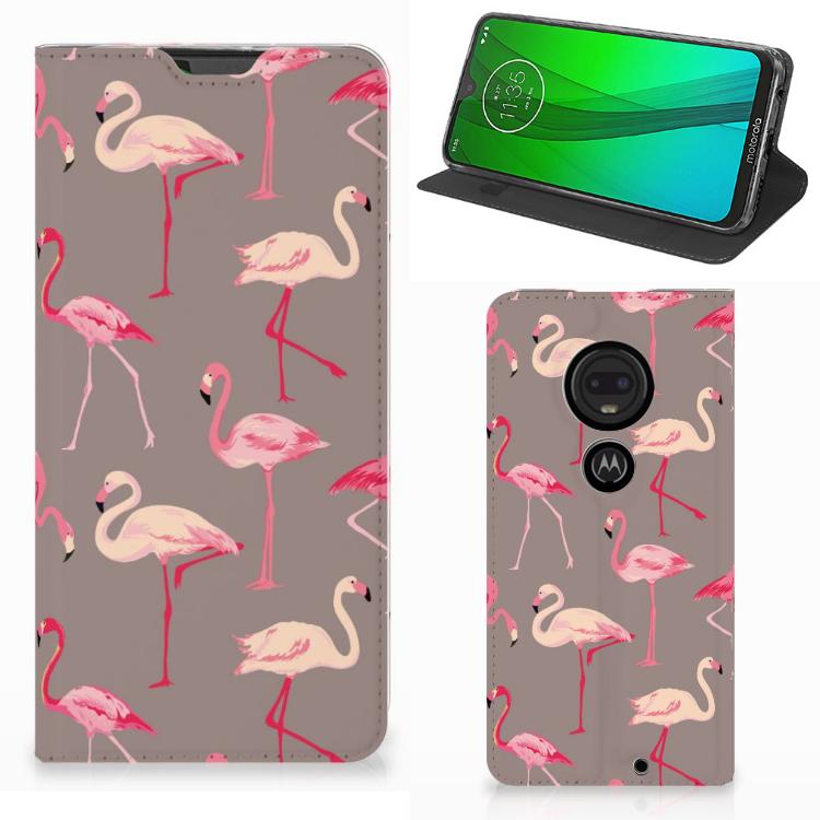 Motorola Moto G7 | G7 Plus Hoesje maken Flamingo