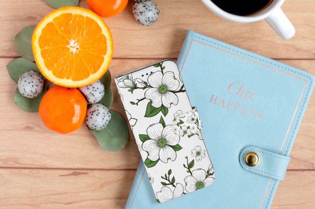 Samsung Galaxy S8 Boekhoesje Design Dogwood Flowers