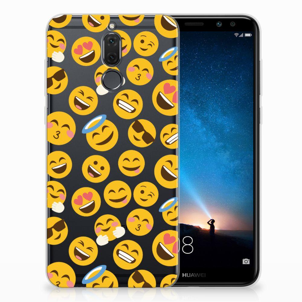 Huawei Mate 10 Lite TPU Hoesje Design Emoji