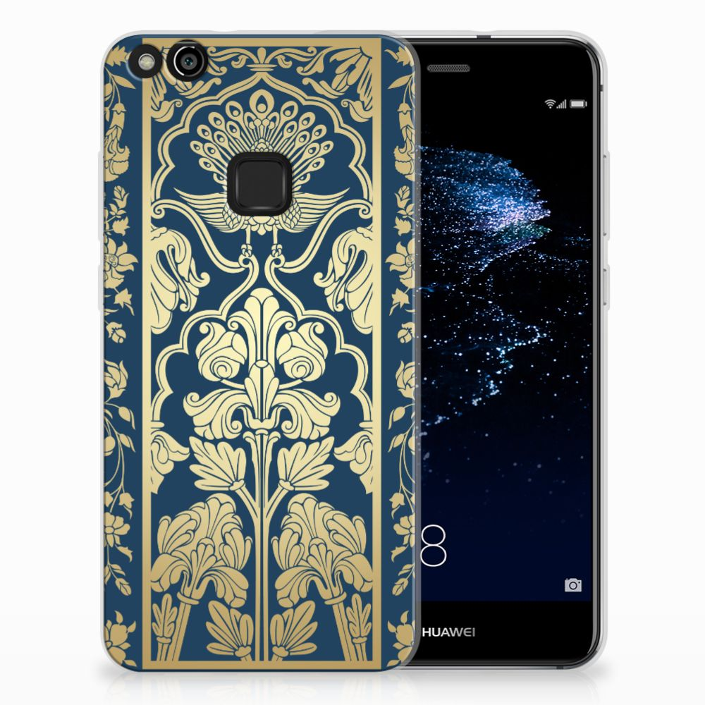 Huawei P10 Lite TPU Case Golden Flowers