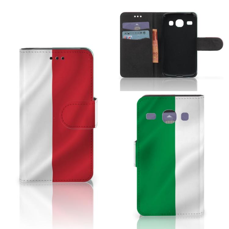 Samsung Galaxy Core i8260 Bookstyle Case Italië