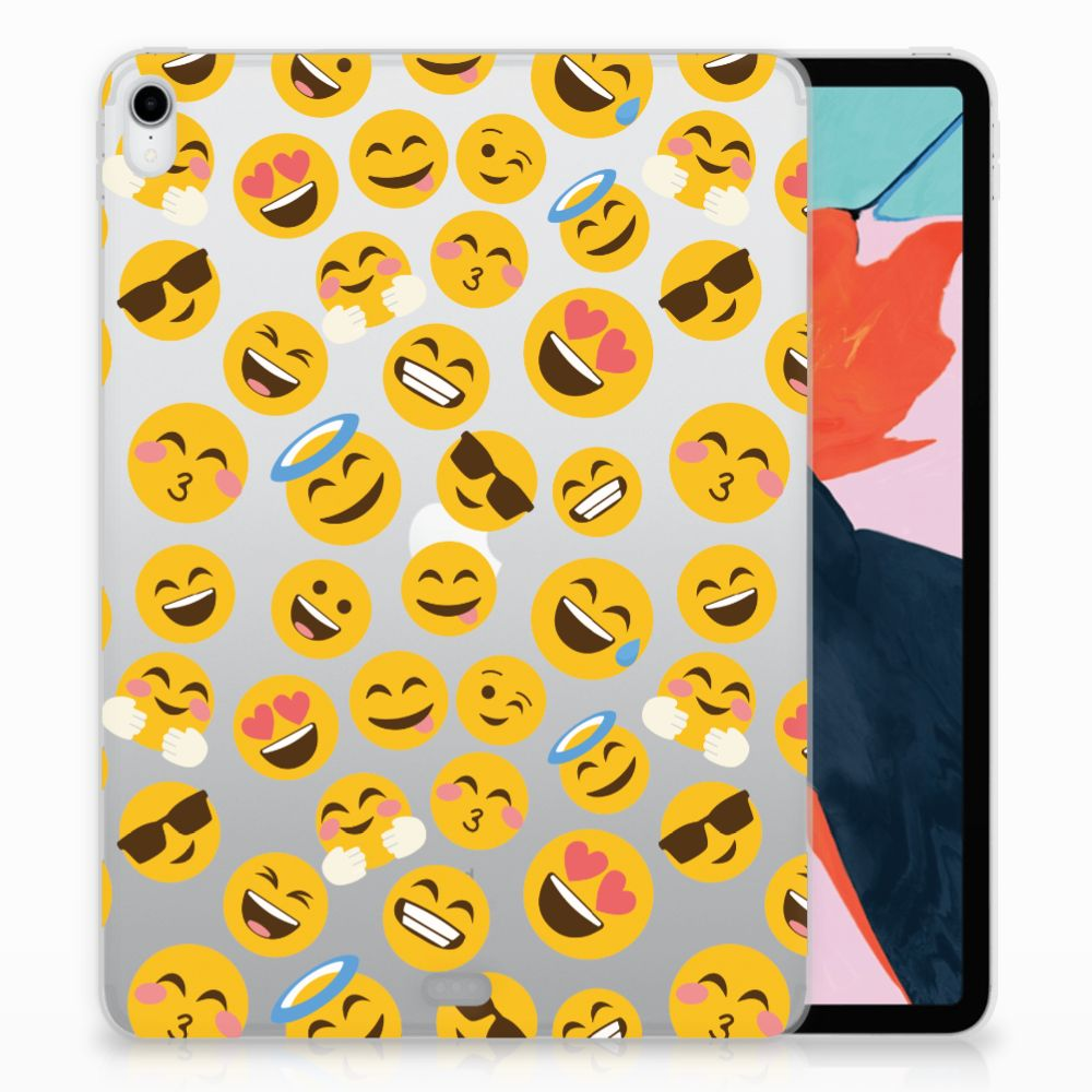 Apple iPad Pro 11 inch (2018) TPU Hoesje Design Emoji
