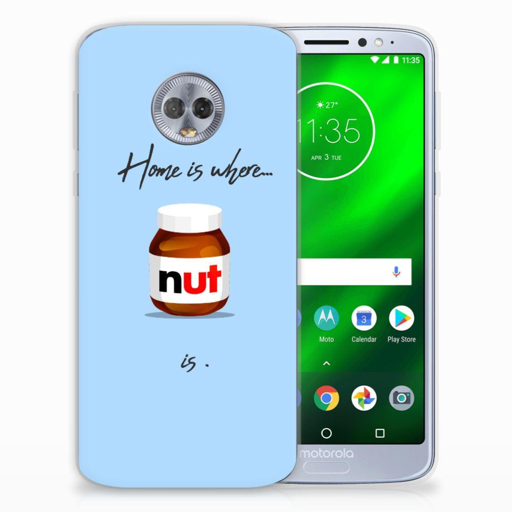 Motorola Moto G6 Plus Siliconen Case Nut Home
