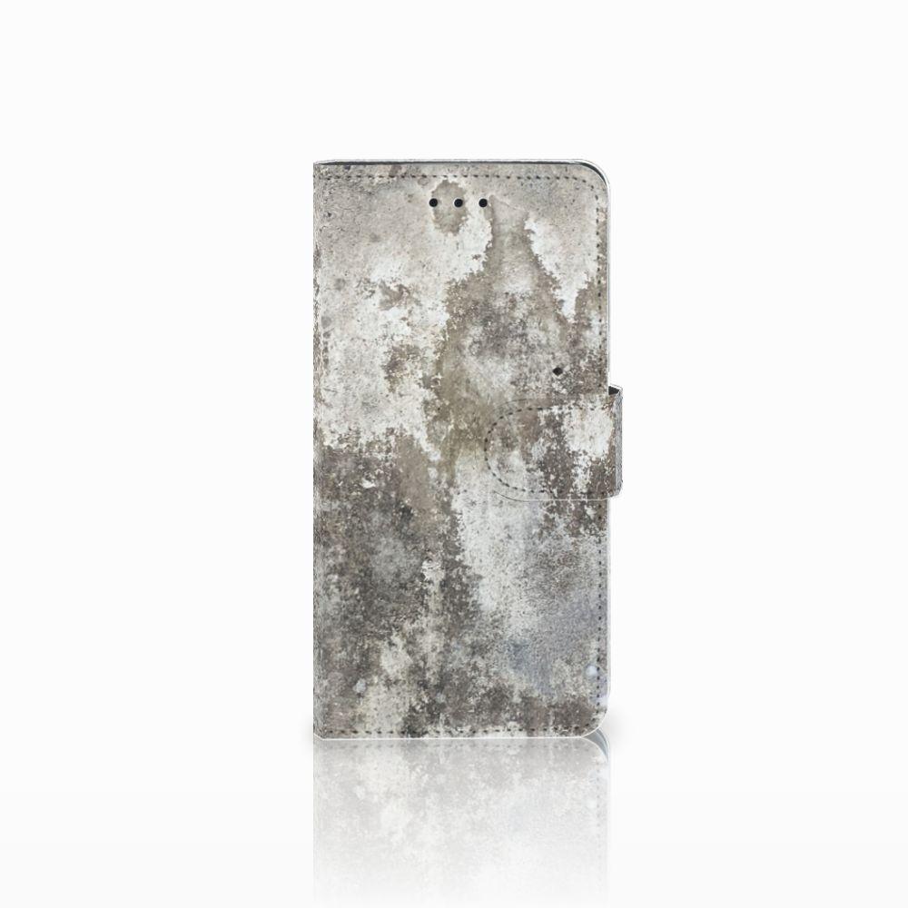 Huawei Y5 2018 Boekhoesje Design Beton