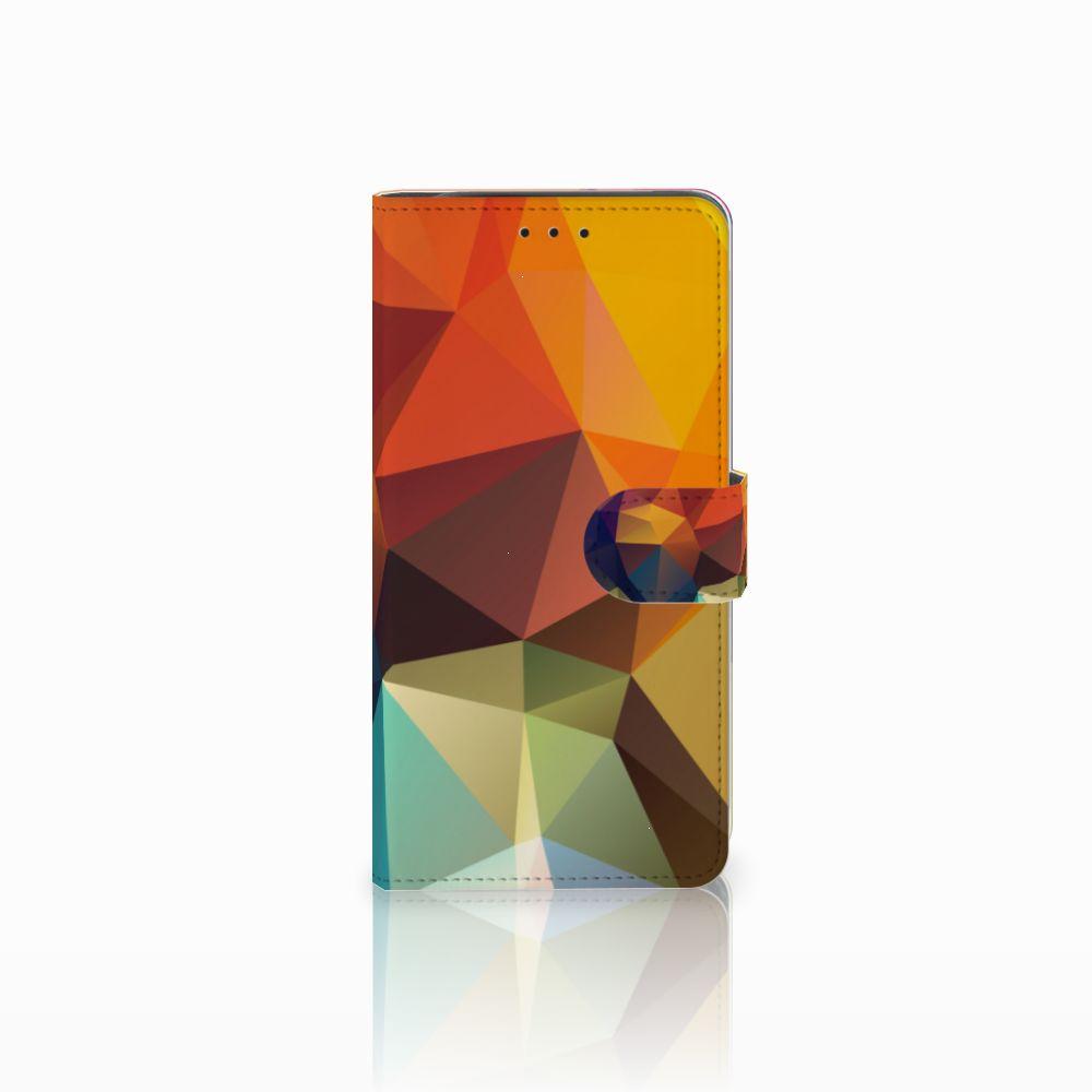 Samsung Galaxy J6 Plus (2018) Boekhoesje Design Polygon Color