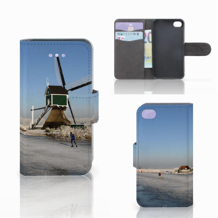 Apple iPhone 4 | 4S Flip Cover Schaatsers