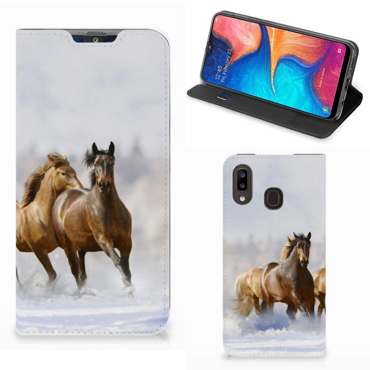 Samsung Galaxy A30 Hoesje maken Paarden