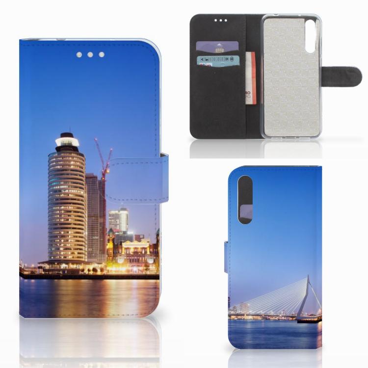 Huawei P20 Pro Flip Cover Rotterdam
