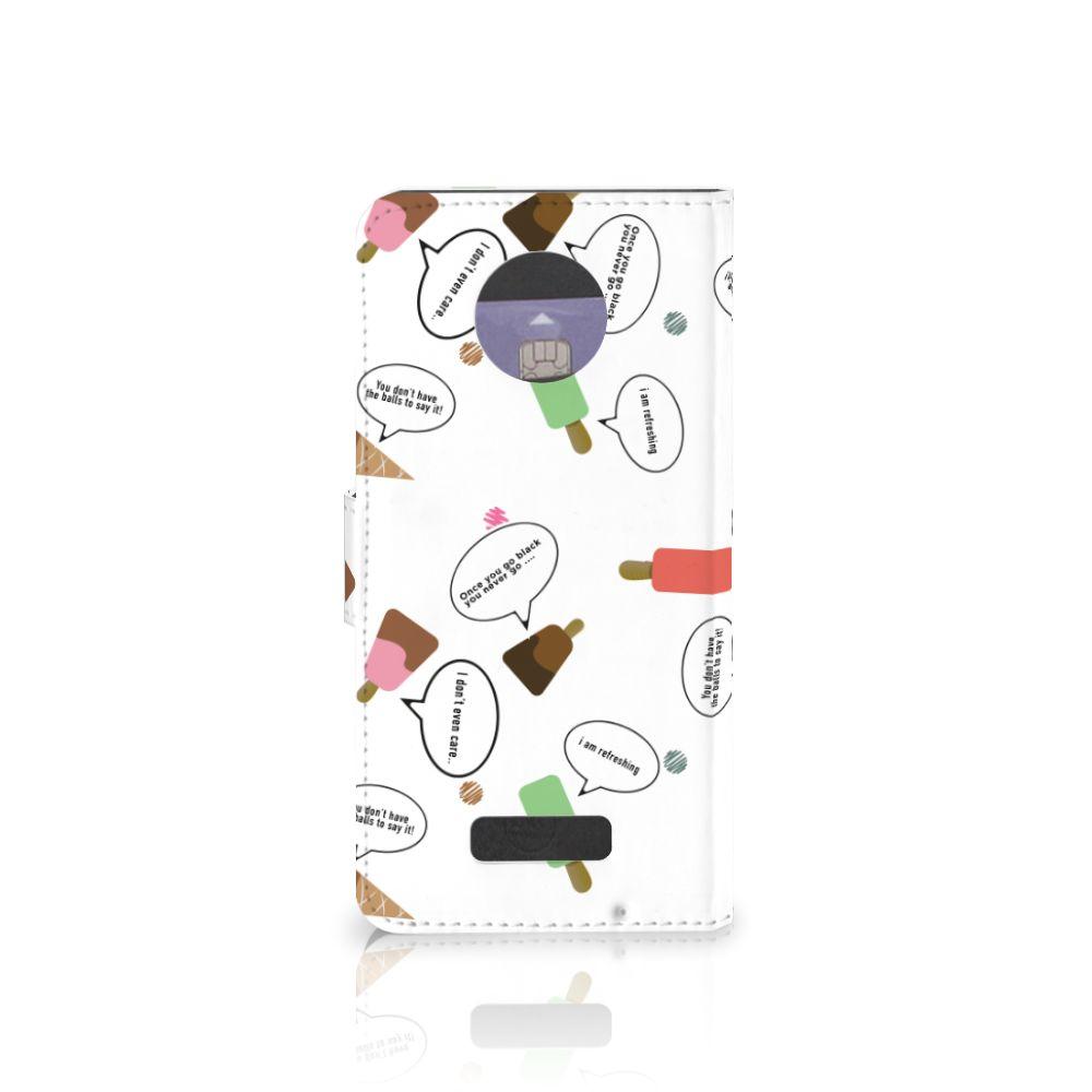 Motorola Moto Z Book Cover IJsjes