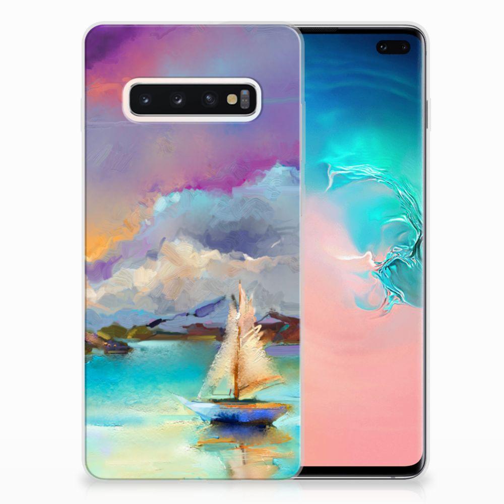 Hoesje maken Samsung Galaxy S10 Plus Boat