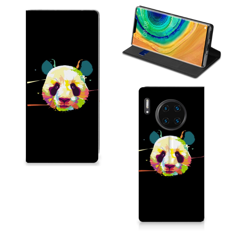 Huawei Mate 30 Pro Magnet Case Panda Color