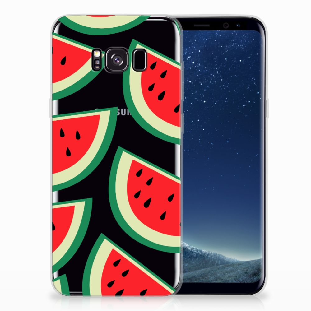 Samsung Galaxy S8 Plus Siliconen Case Watermelons