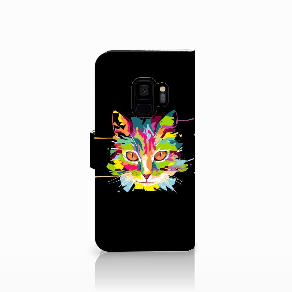 Samsung Galaxy S9 Leuke Hoesje Cat Color