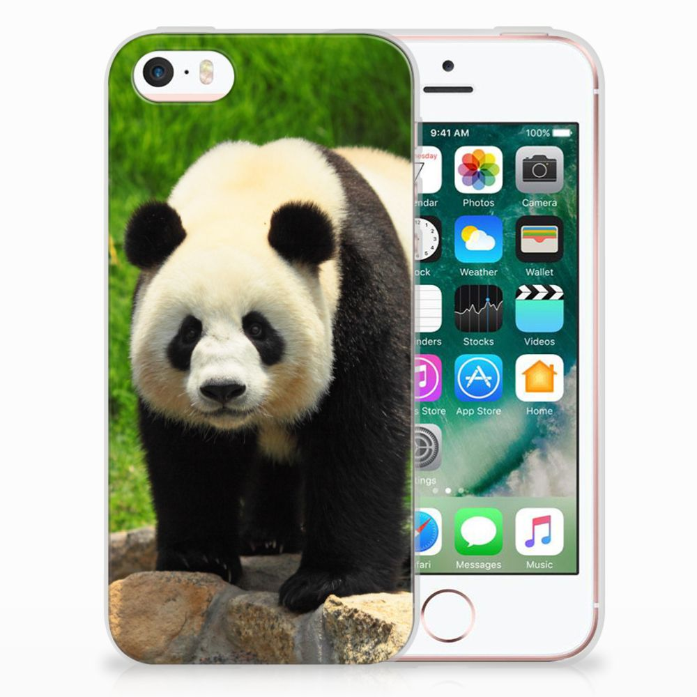 Apple iPhone SE | 5S TPU Hoesje Design Panda