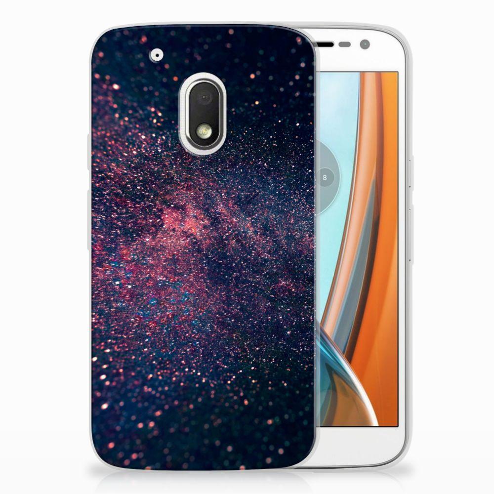Motorola Moto G4 Play TPU Hoesje Stars