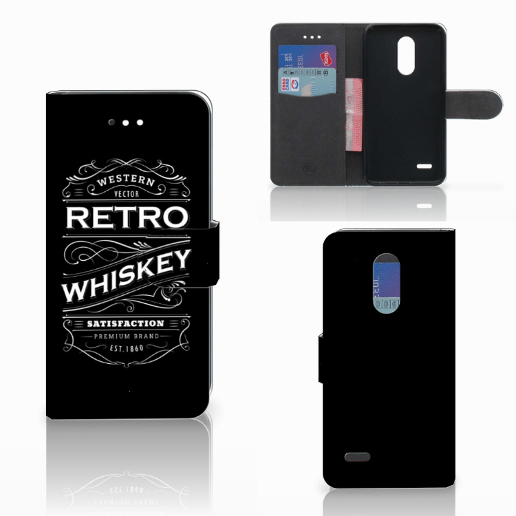 LG K11 Book Cover Whiskey