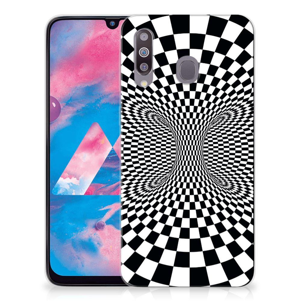 Samsung Galaxy M30 TPU Hoesje Illusie