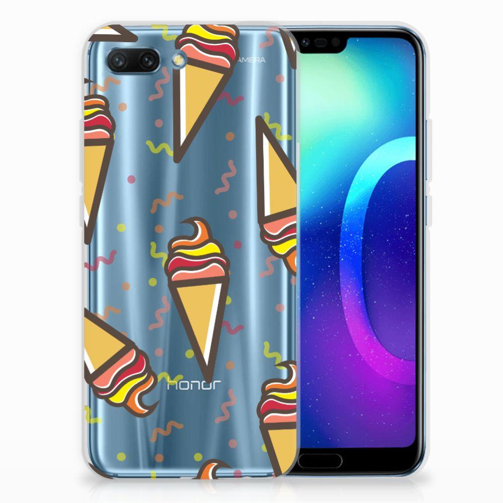 Huawei Honor 10 Siliconen Case Icecream