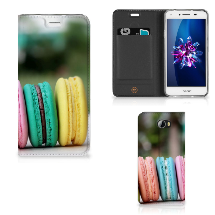 Huawei Y5 2   Y6 Compact Flip Style Cover Macarons