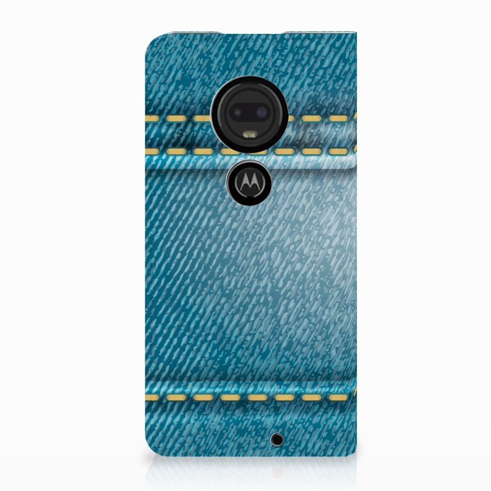 Motorola Moto G7 | G7 Plus Standcase Hoesje Design Jeans