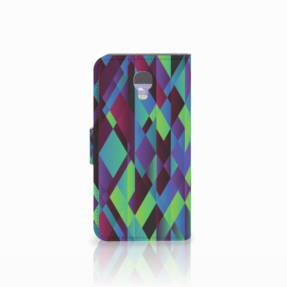 LG X Screen Bookcase Abstract Green Blue