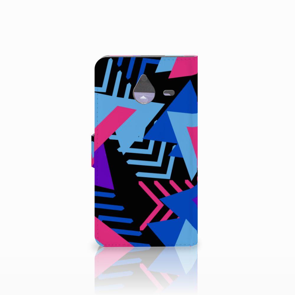 Microsoft Lumia 640 XL Bookcase Funky Triangle