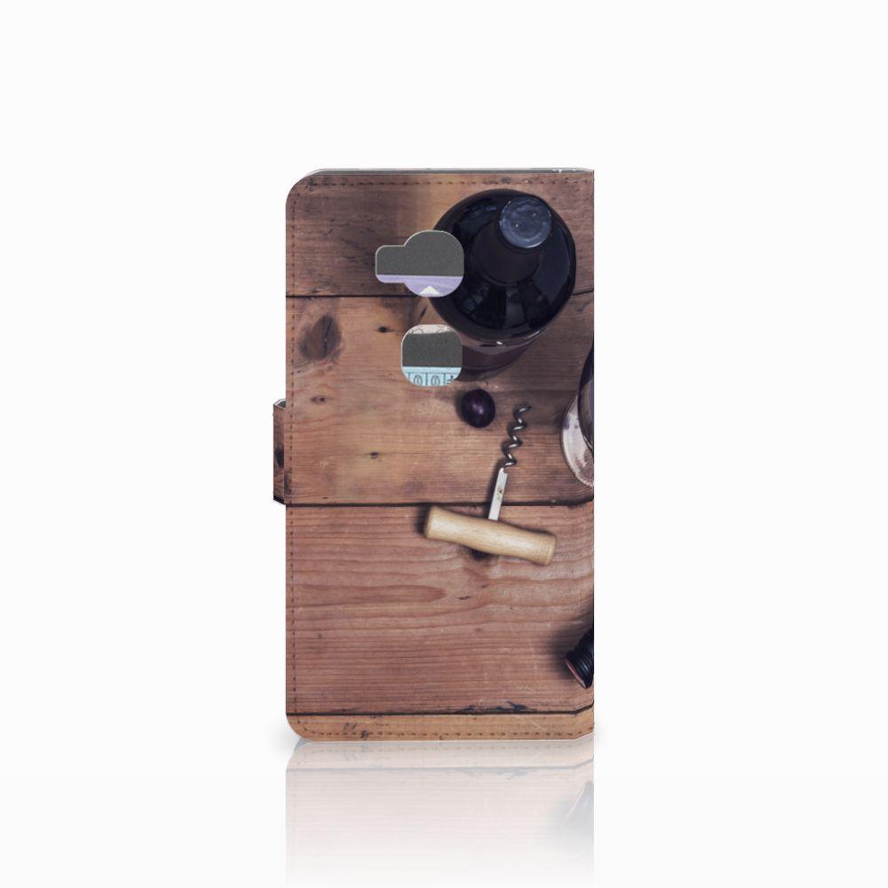 Huawei Honor 5X Book Cover Wijn