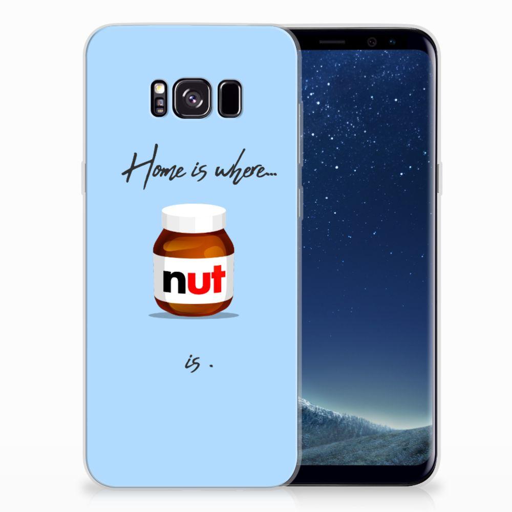 Samsung Galaxy S8 Plus Siliconen Case Nut Home