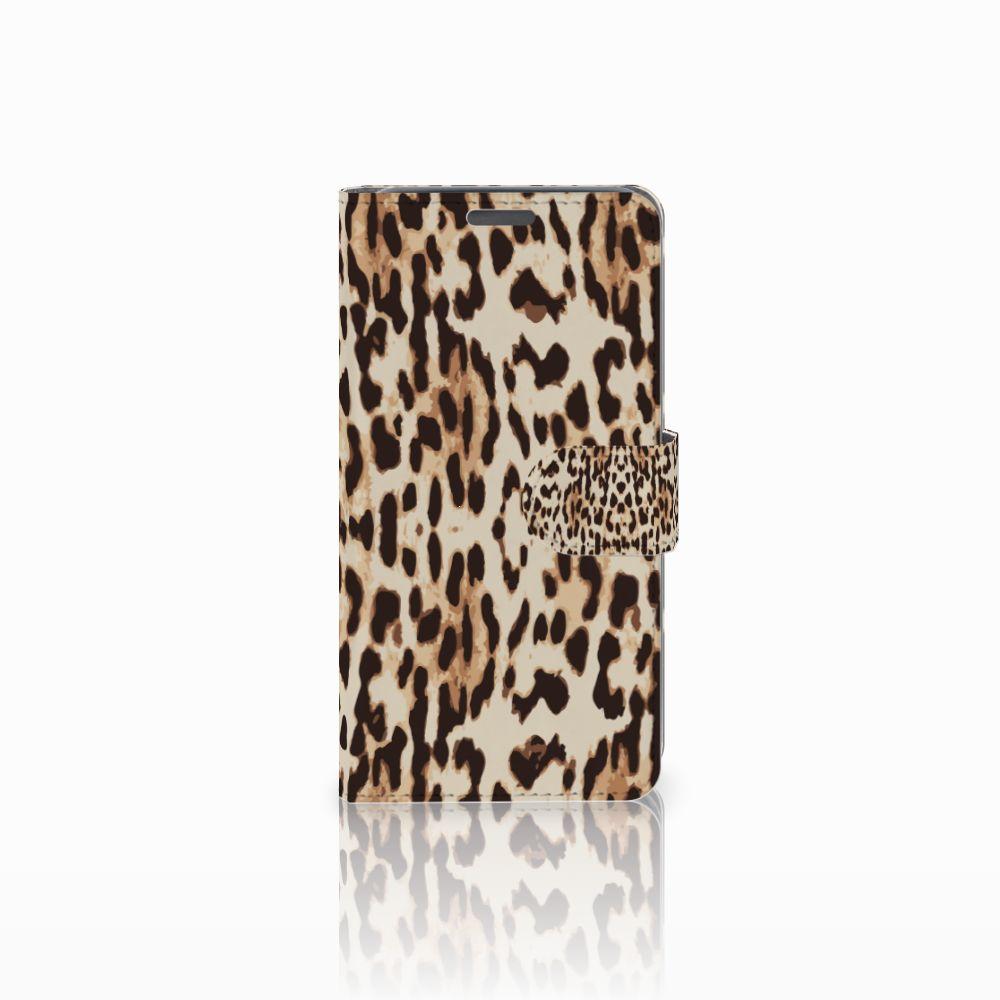 Wiko Lenny Uniek Boekhoesje Leopard