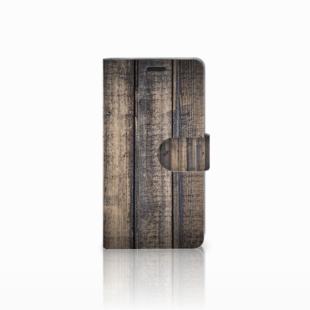 LG G3 Boekhoesje Design Steigerhout