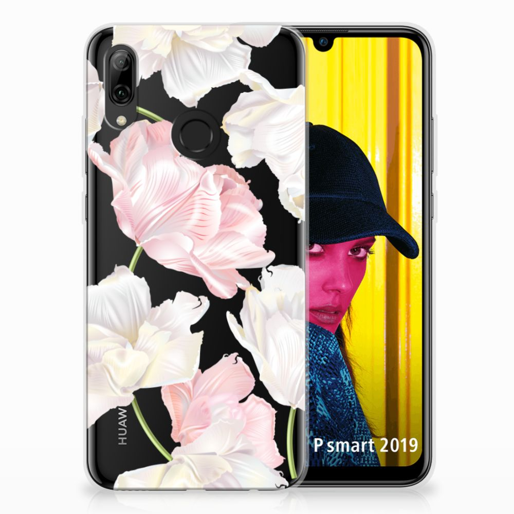 Huawei P Smart 2019 TPU Hoesje Design Lovely Flowers