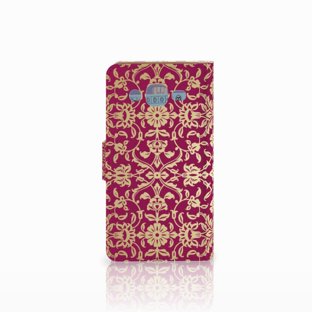 Wallet Case Samsung Galaxy J2 (2015) Barok Pink