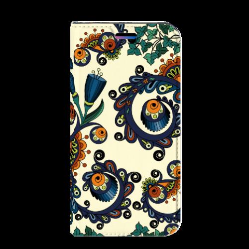 Apple iPhone X | Xs Standcase Hoesje Design Barok Flower