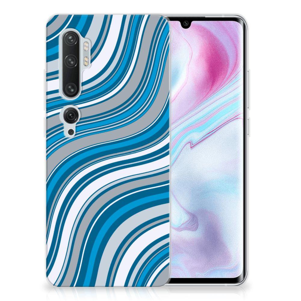 Xiaomi Mi Note 10 Pro TPU bumper Waves Blue