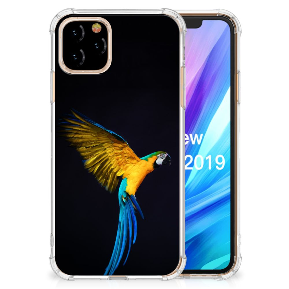 Apple iPhone 11 Pro Case Anti-shock Papegaai