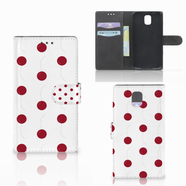 Samsung Galaxy Note 3 Book Cover Cherries